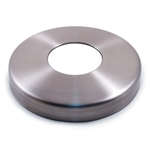 "Stainless Steel Flange Canopy 4 9/64"" Dia. x 1 11/"