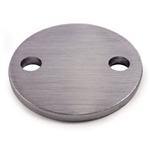 "Stainless Steel Disc 3 15/16"" Dia. x 15/64"""