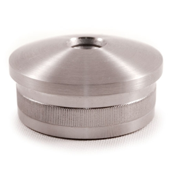 316 Stainless Steel End Cap Rounded for Tube 1 2/3