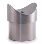 316 Stainless Steel Handrail Support For Tube 1 2/
