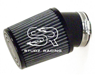 "Air Filter, Race, Open Element, Angled (Most Popular) 3-1/2"" x 4"