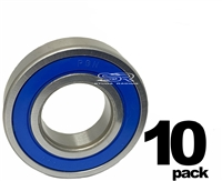 10 Pack Sealed Wheel Bearing For Baja Warrior ABEC-3 2RS Performance
