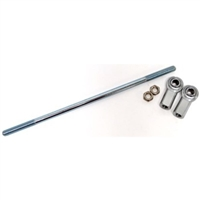 Solid Tie Rod Kit With Deluxe Rod Ends, 3/8-24, 17″ LENGTH