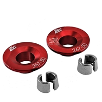 Billet Aluminum Retainers For 5mm Valve Stems