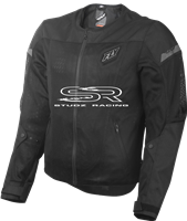 FLY RACING FLY FLUX AIR JACKET BLACK