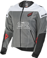 FLY RACING FLY FLUX AIR JACKET BLACK/WHITE