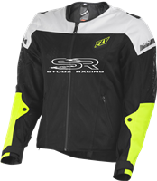 FLY RACING FLY FLUX AIR JACKET BLACK/HI-VIS