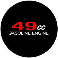 49CC Motor Sticker
