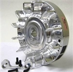 Flywheel, Billet, PVL, Fixed (bracket Included) - GX160  - GX200,  & 6.5 Chinese OHV