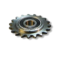 Idler/Tensioner Sprocket Steel, #40/#41 Chain, 5/8″ ID Precision Bearing, 19 Tooth