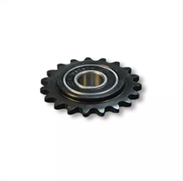 IDLER/TENSIONER SPROCKET STEEL, #35 CHAIN, 1/2″ ID PRECISON BEARING, 19 TOOTH