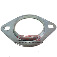 "Azusa 2-Hole Bearing Flangette for 3/4"" Axles"