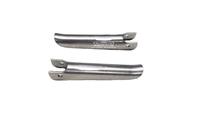 Ruttman  Style Vintage Extended Foot Pegs Pair ( Stainless Steel)