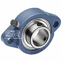 Live Axle Bearing 1' With Flange ( Heavy Duty High Performance)