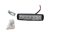 "6 X 1"" Inch 12-24 Volt 16 LED Light With Mounting Bracket"