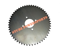 Universal 420 Steel Plate Sprocket 54 Tooth.