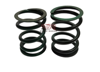 Valve Springs, 37 lb., Pair, Green Stripe