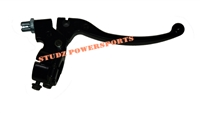 Baja Warrior Left All Steel Brake lever With Adjuster 7/8