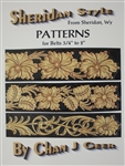 "Sheridan Style Patterns for Belts 3/4"" to 2"""