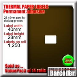 Image (if shown) is illustrative and indicates the dimensions of each label. Please read the full product description for precise information about this product.