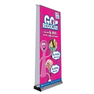 Trade Show Displays: Advance Double Sided Retractable Banner Stand [Complete]