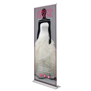 Trade Show Displays: Blade Lite 920 Retractable Banner Stand [Graphics Only]