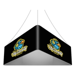 Trio Blimp Straight Triangle Hanging Sign - 12 ft x 48 in [Complete]