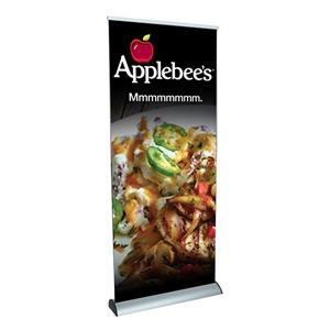 Trade Show Displays: Crescent Retractable Banner Stand [Graphics Only]