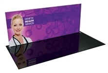Formulate WS1 - 20' Straight Fabric Trade Show Display [GFX Only]