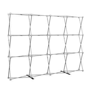 HopUp 10 ft (4x3) Straight Tension Fabric Display [Hardware Only]