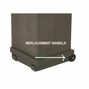 Replacement Wheels for OC-HOP HopUp Case (Pack of 2)