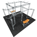 Aarhus 20 X 20 Orbital Express Truss Exhibit Kit [Hardware only]