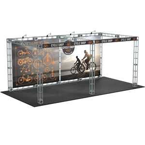 Luna 10X20 Orbital Express Truss Exhibit Kit [Graphics only]
