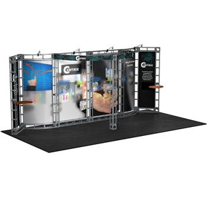 Trade Show Displays: Antares 10' x 20' Orbital Truss System [Complete]