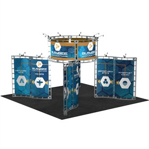 Trade Show Displays: Canis 20' x 20' Orbital Truss System [Complete]