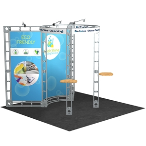 Trade Show Displays: Carina 10' x 10' Orbital Truss System [Complete]