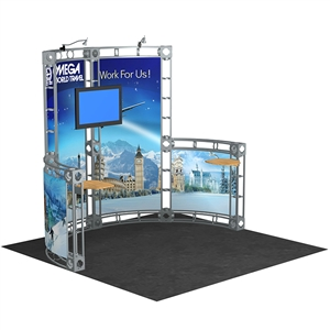 Trade Show Displays: Cetus 10' x 10' Orbital Truss System [Complete]
