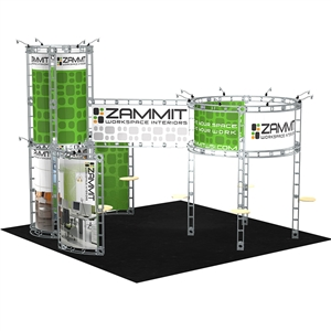 Trade Show Displays: Corvus 20' x 20' Orbital Truss System [Complete]