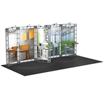 Trade Show Displays: Electra 10' x 20' Orbital Truss System [Complete]