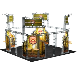 Trade Show Displays: Leo 20' x 20' Orbital Truss System [Complete]