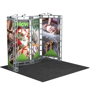 Trade Show Displays: Pavo 10' x 10' Orbital Truss System [Complete]