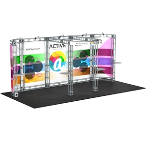 Trade Show Displays: Polaris 10' x 20' Orbital Truss System [Complete]