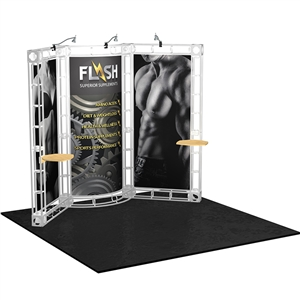 Trade Show Displays: Sirius 10' x 10' Orbital Truss System [Complete]
