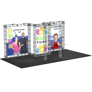 Trade Show Displays: Saturn 10' x 20' Orbital Truss System [Complete]