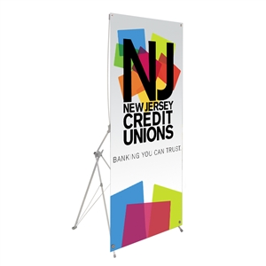 Trade Show Displays: Spring 7 Budget Spring-Back Banner Stand [Graphic only]
