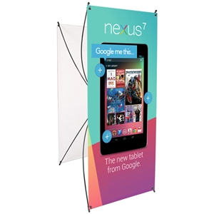 Trade Show Displays: Spring 3 Budget Two-Sided Spring-Back Banner Stand [GFX Only]