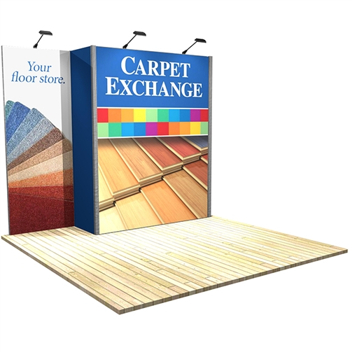 10 ft x 10 ft Vector Frame 3 Display Stand [Graphics Only]