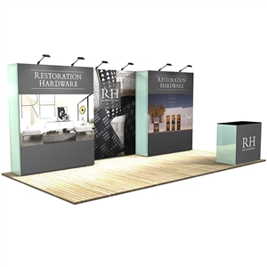Trade Show Displays: Vector Frame 5 Display Stand [Complete]