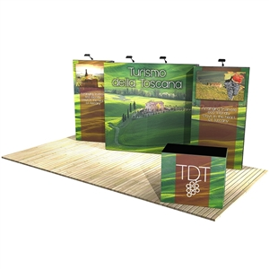 Trade Show Displays: Vector Frame 8 Display Stand [Complete]
