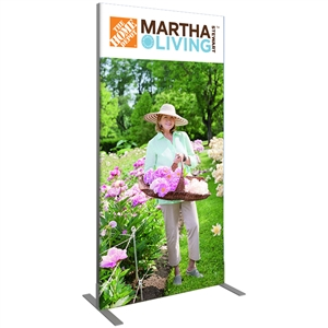Trade Show Displays: Vector Rectangle Backwall 2 [Complete]
